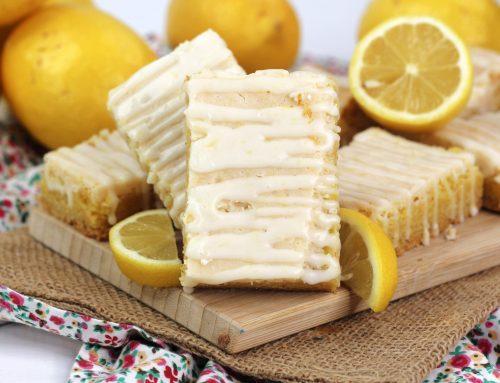 Lemon Cake Bars Recipe
