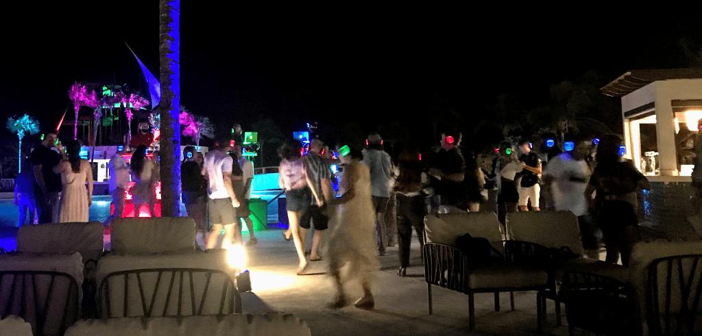 Silent Disco at Grand Bahia Principe Tulum