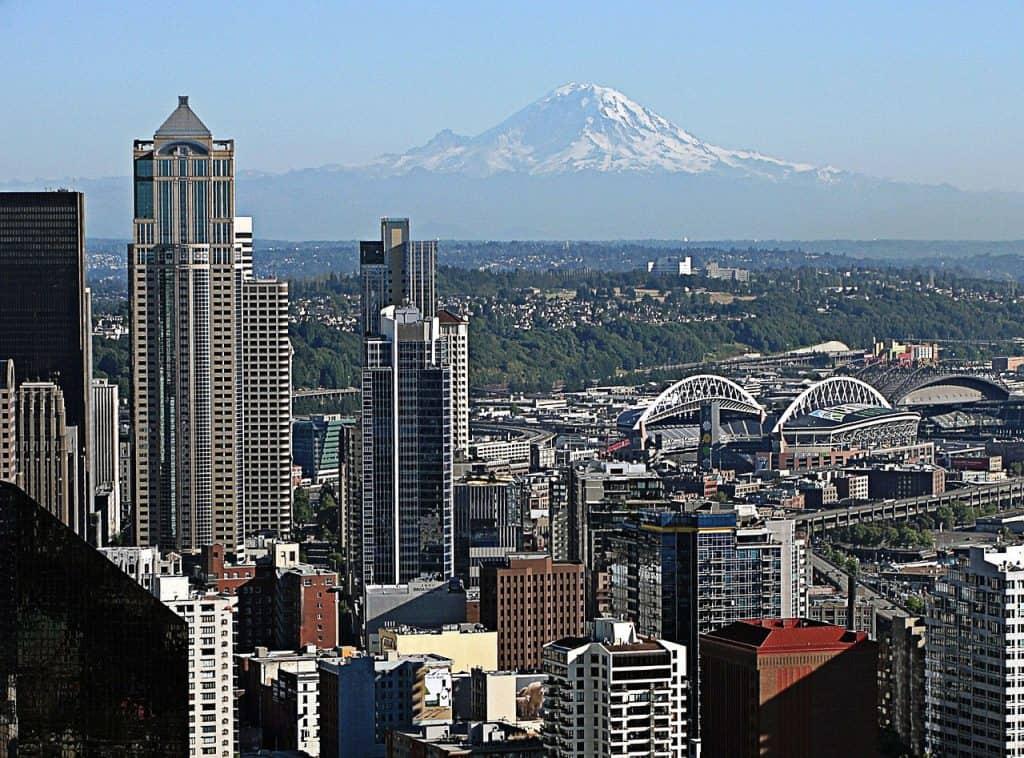 Mt. Rainier outside of Seattle
