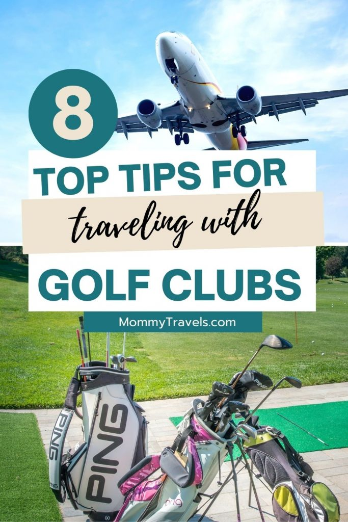 8 tips for traveling with golf clubs