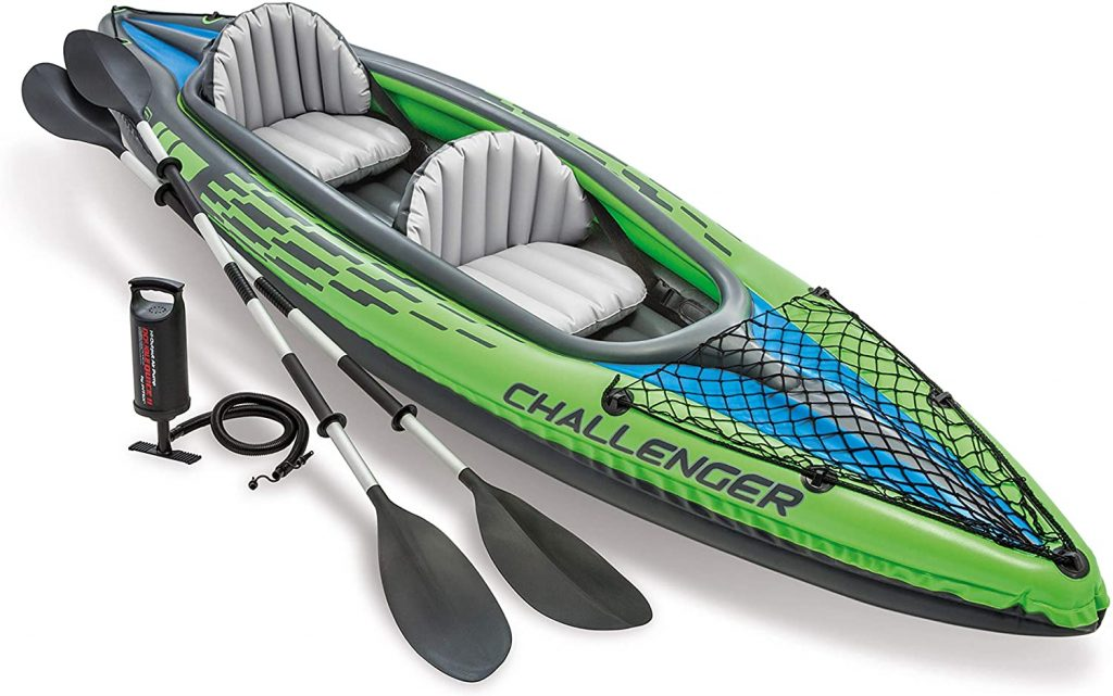 Intex Challenger Kayak Inflatable Seta great lightweight kayak