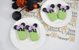 Frankenstein Minnie Mouse CakesiclesRecipe